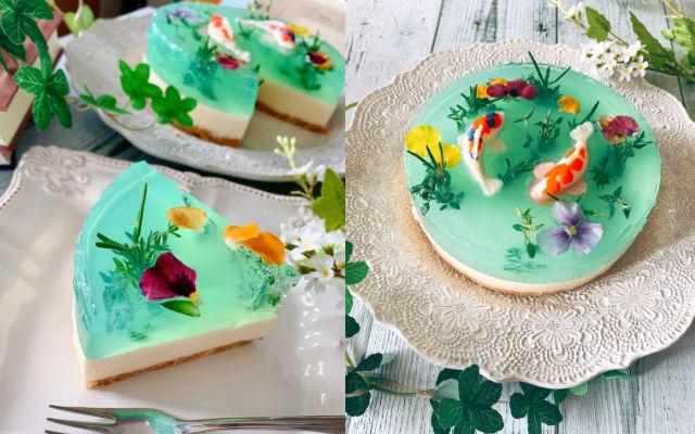 monets pond cake