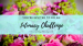 Floral Bouquet with wedding rings and text overlay: You're invited to do an intimacy challenge