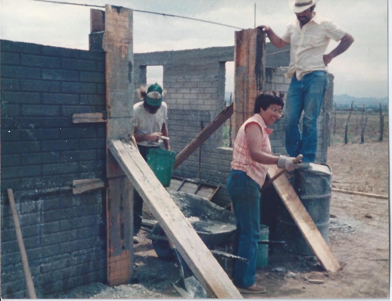 norma helping build