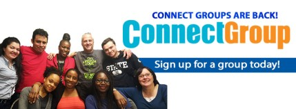 Sign up to our Connect Groups.