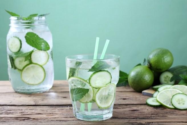 Resveralife Delicious Detox Water Recipes Lemon Cucumber - CUCUMBER GREEN FRESH (click image to view)