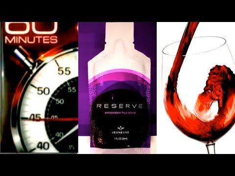 【HD】Resveratrol – The Super Anti-Aging/Antioxidant in Red Wine; in 60 Minutes & in Jeunesse Reserve