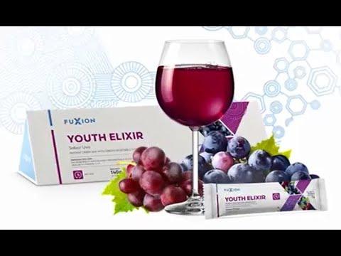 ¡NUEVO! YOUTH ELIXIR HGH Clean Label Fuxion Retrasar envejecimiento Resveratrol Amalaki Antioxidante