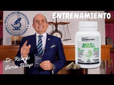 "Dr. Ricardo García Pelayo ""Multi+Resveratrol"""