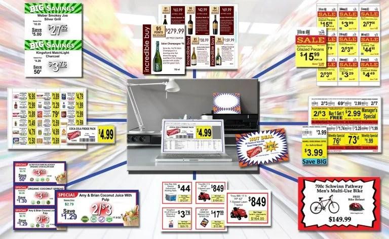 DESIGN-R-LABELS | Industry Leading Sign & label Program for Retailers