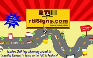 How You Can Enhance Your Shelf-Edge Advertising to Convert Browsers to Buyers.
