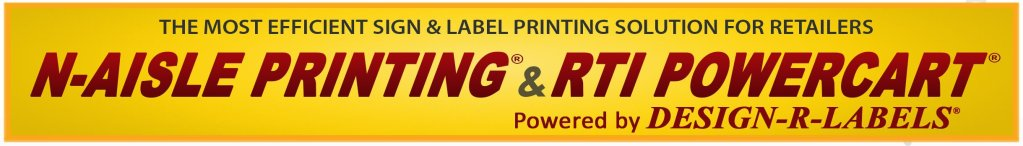 Print in the aisle with RTI's complete N-AISLE printing solution