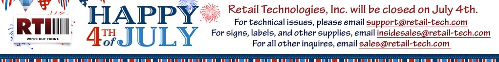 Retail Technologies, Inc. Independence Day Holiday Hours
