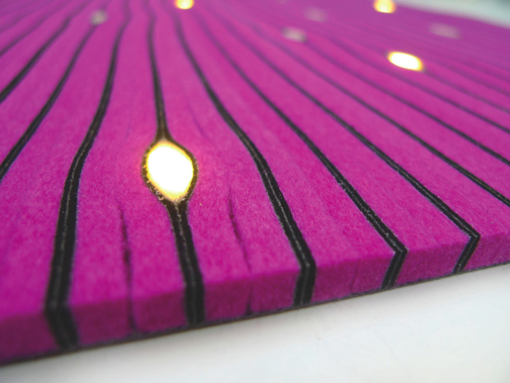 cell led carpet 02 Cell LED Carpet by Lama Concept