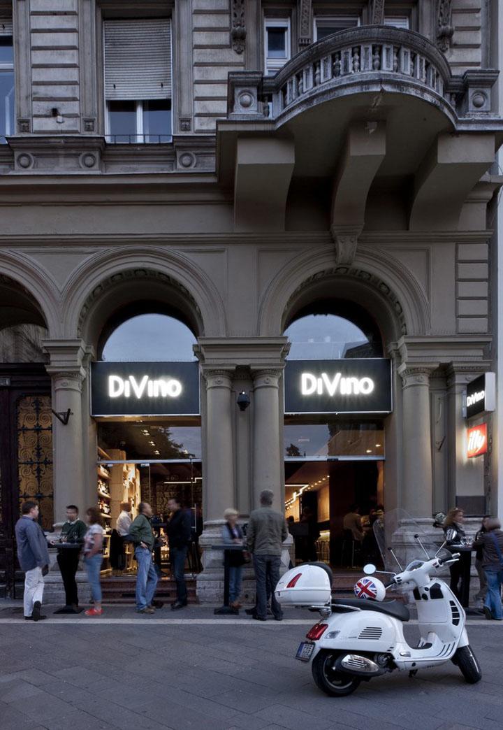 Divino Wine Bar by suto interior architects Budapest 16 Divino Wine Bar by suto interior architects, Budapest