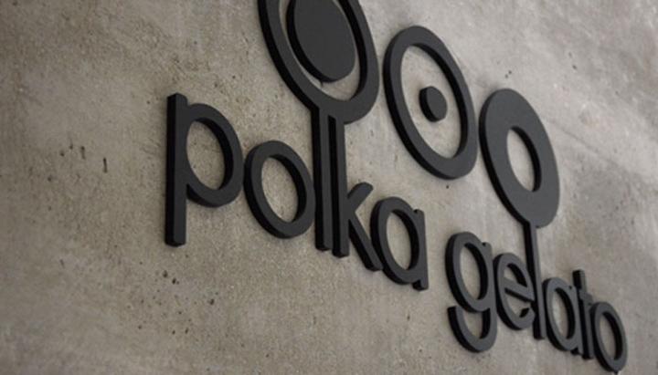 Polka Gelato store by VONSUNG 06 Polka Gelato store identity, design, branding by VONSUNG