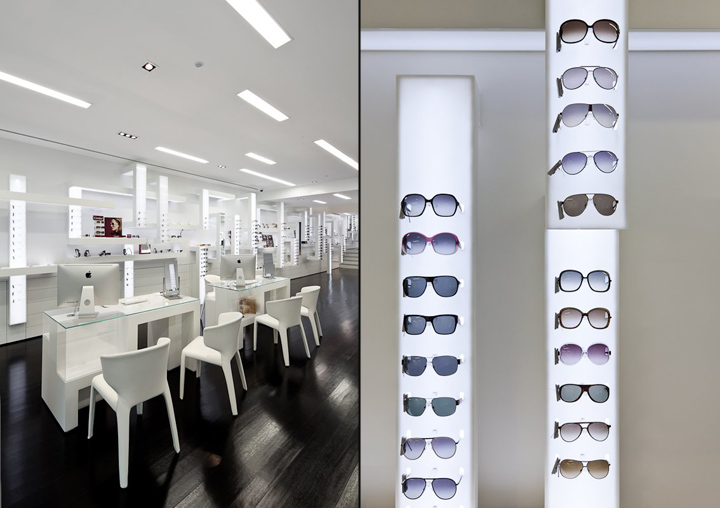 Optical Store By Sousa Santos Arquitectos Architecture