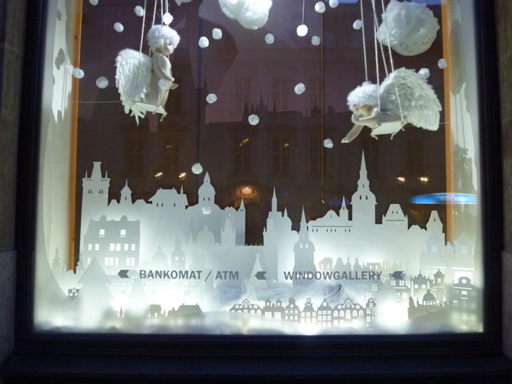 Interactive Christmas Window Display By Wellen Prague