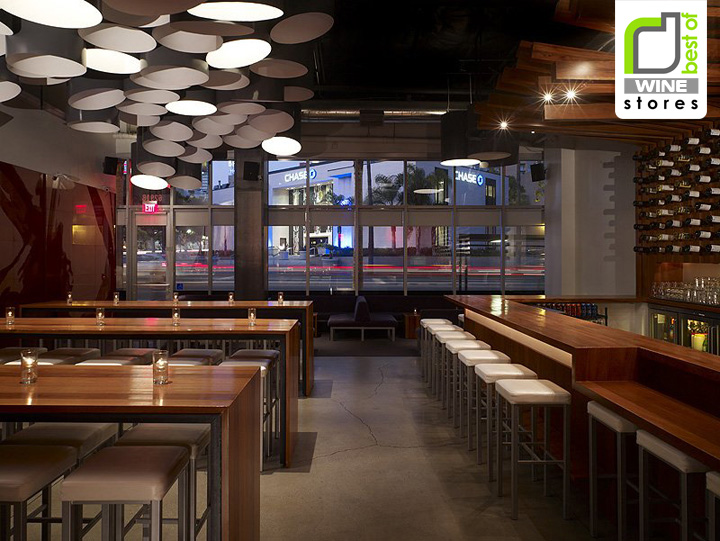 WINE STORES Bodega Wine Bar By MAKE Architecture Hollywood