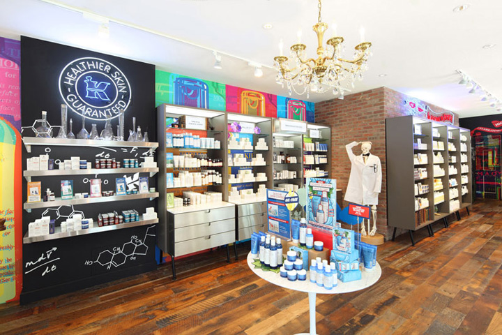 Kiehls Retail Store And Spa 1851 New York City Retail