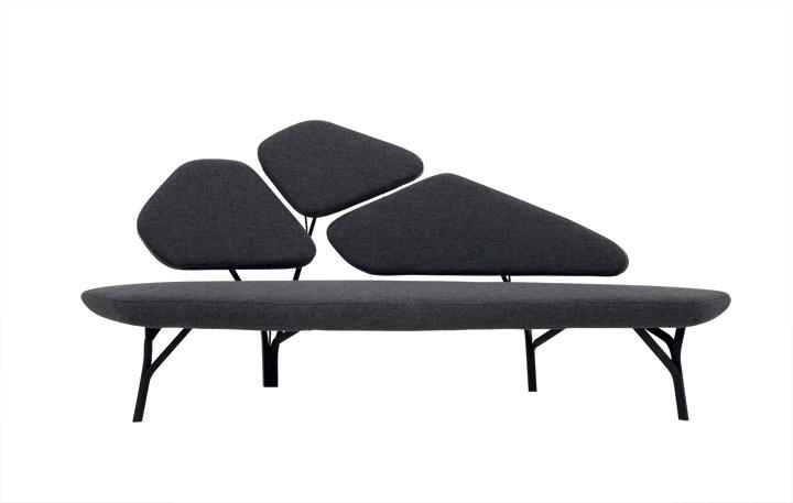 Borghese Sofa By No Duchaufour Lawrance For La Chance