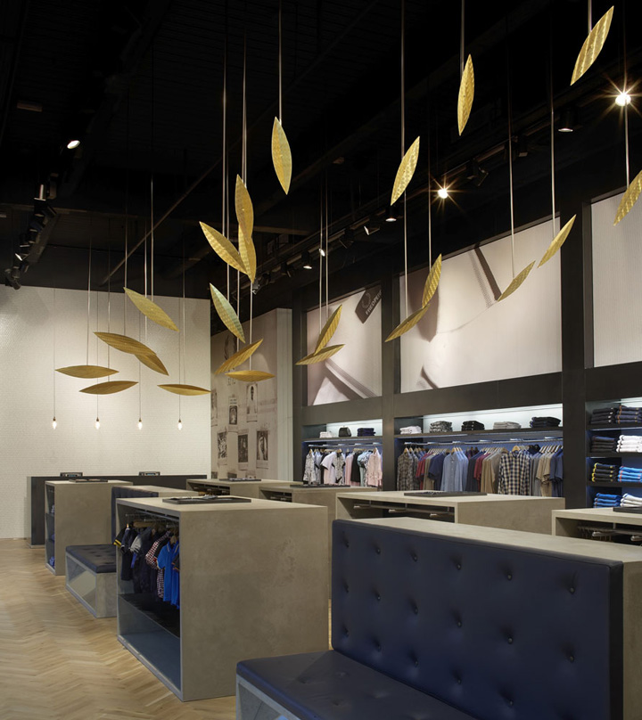 Fred Perry store by BuckleyGrayYeoman London 03 Fred Perry store by BuckleyGrayYeoman, London