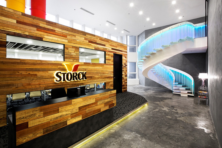 Storck Asia Pacific office by Sennex Singapore Storck Asia Pacific office by Sennex, Singapore