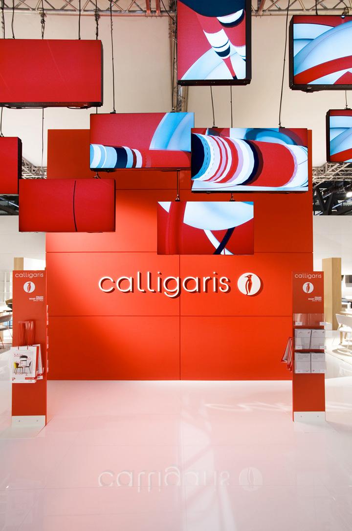 Calligaris stand Salone Del Mobile 2013 Nascent Design Milan 07 Calligaris stand at Salone Del Mobile 2013 by Nascent Design, Milan