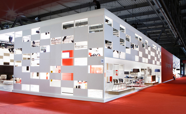 Calligaris stand at salone del mobile 2013 by nascent for Salone del mobile stand