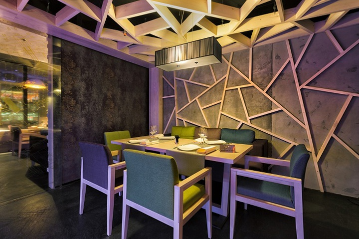 Concrete bar restaurant by Yunakov Studio Kiev Ukraine 05 Concrete bar & restaurant by Yunakov Studio, Kiev   Ukraine