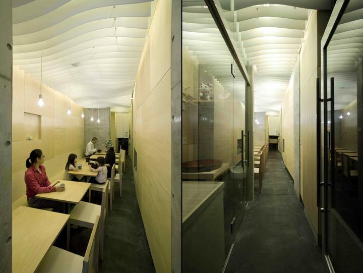 Yufutoku restaurant by ISSHO Architects Tokyo 02 Yufutoku restaurant by ISSHO Architects, Tokyo