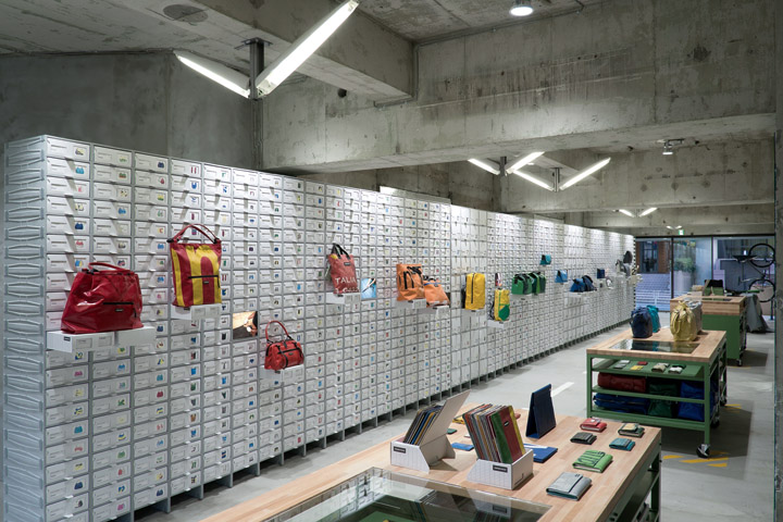 FREITAG store in Shibuya by spillmann echsle architekten Torafu Architects Tokyo 02 FREITAG store in Shibuya by spillmann echsle architekten & Torafu Architects, Tokyo
