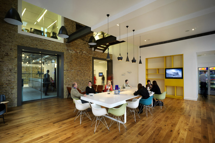 Red Bull Head Office by MoreySmith London UK Red Bull Head Office by MoreySmith, London   UK