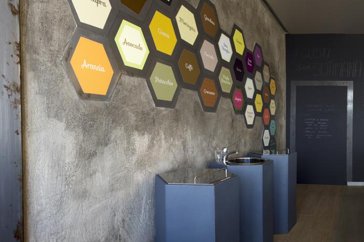 ITAIS Ice Cream Shop By MAS Studio Brescia Italy