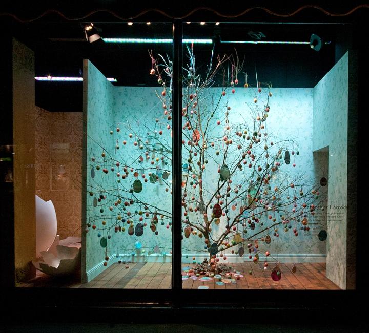 Harrods Windows 2014 Spring London