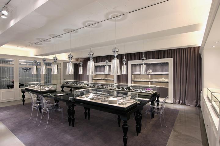 Mond Jewelry Boutique By HJL Studio Seoul Korea