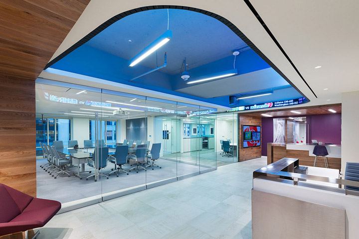 , American Gaming Association Offices by OTJ Architects, Washington DC, SAGTCO Office Furniture Dubai & Interactive Systems