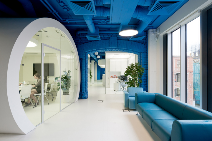 , Optimedia offices by Nefa Architects, Moscow – Russia, Office Furniture Dubai | Office Furniture Company | Office Furniture Abu Dhabi | Office Workstations | Office Partitions | SAGTCO