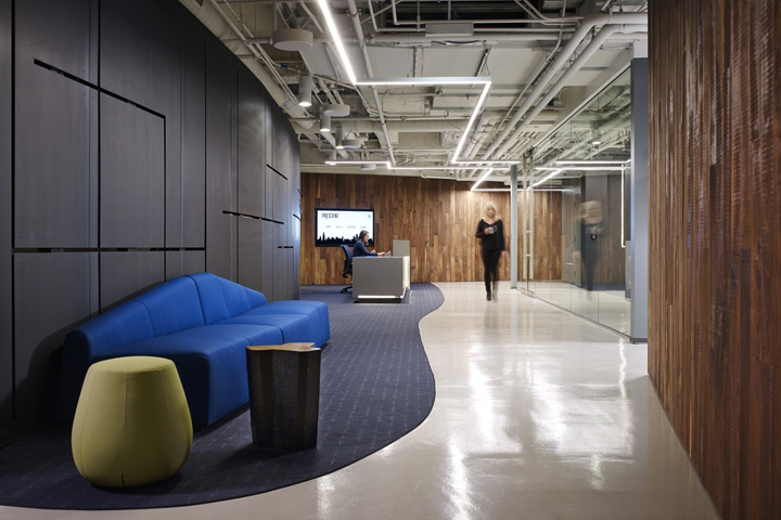 , Prescient Offices by Perkins+Will, Chicago – Illinois, Office Furniture Dubai | Office Furniture Company | Office Furniture Abu Dhabi | Office Workstations | Office Partitions | SAGTCO