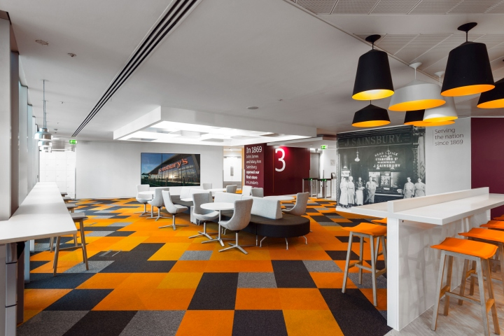 , Sainsbury's Central London HQ by Pope Wainwright & Wykes, London – UK, Office Furniture Dubai   Office Furniture Company   Office Furniture Abu Dhabi   Office Workstations   Office Partitions   SAGTCO