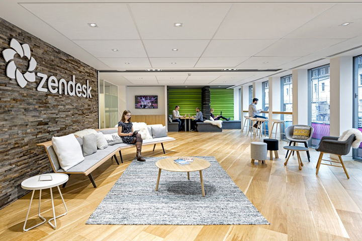 , Zendesk office by Blitz, London – UK, Office Furniture Dubai | Office Furniture Company | Office Furniture Abu Dhabi | Office Workstations | Office Partitions | SAGTCO