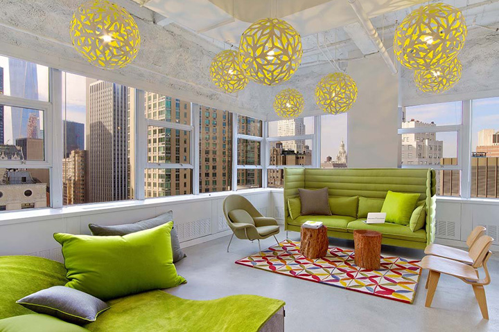 , Educators 4 Excellence offices by Kati Curtis Design, New York City, SAGTCO Office Furniture Dubai & Interactive Systems