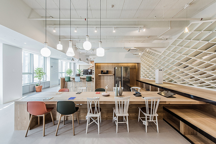 , Samsung Galaxy Cottage by Aworks, Seoul – South Korea, Office Furniture Dubai   Office Furniture Company   Office Furniture Abu Dhabi   Office Workstations   Office Partitions   SAGTCO