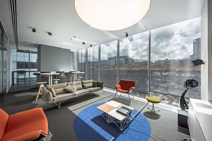 , EA Games Offices by KMD Architects, Mexico City – Mexico, SAGTCO Office Furniture Dubai & Interactive Systems