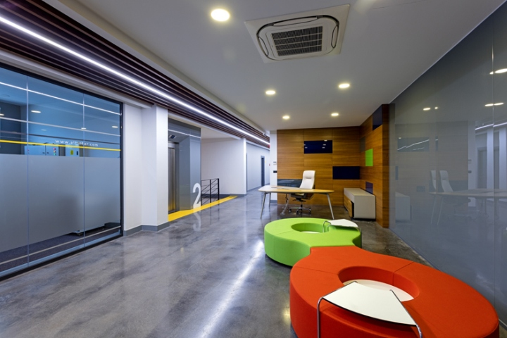 , ALTINTAR Office Building by Kst Architecture, Antalya – Turkey, SAGTCO Office Furniture Dubai & Interactive Systems