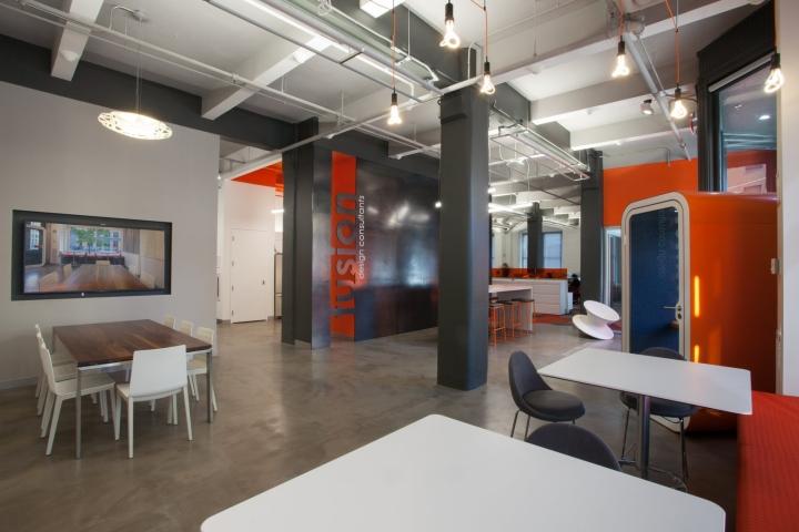 , Fusion Design Consultants offices, Boston – Massachusetts, SAGTCO Office Furniture Dubai & Interactive Systems