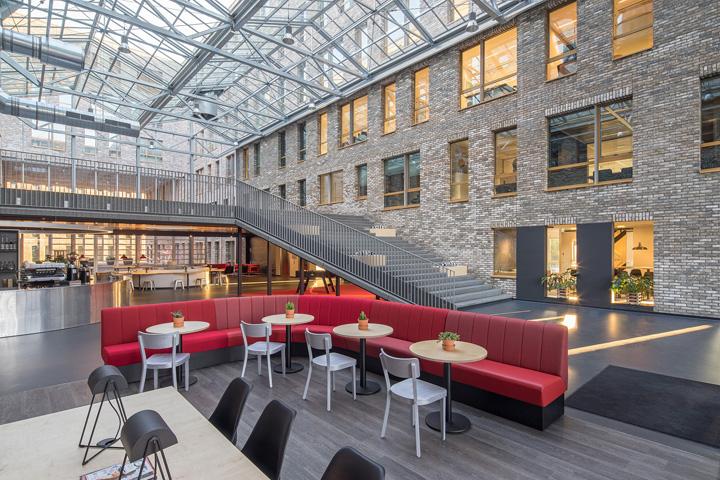 , Luchtruim Eindhoven by Mulderblauw architecten, Eindhoven – Netherlands, SAGTCO Office Furniture Dubai & Interactive Systems