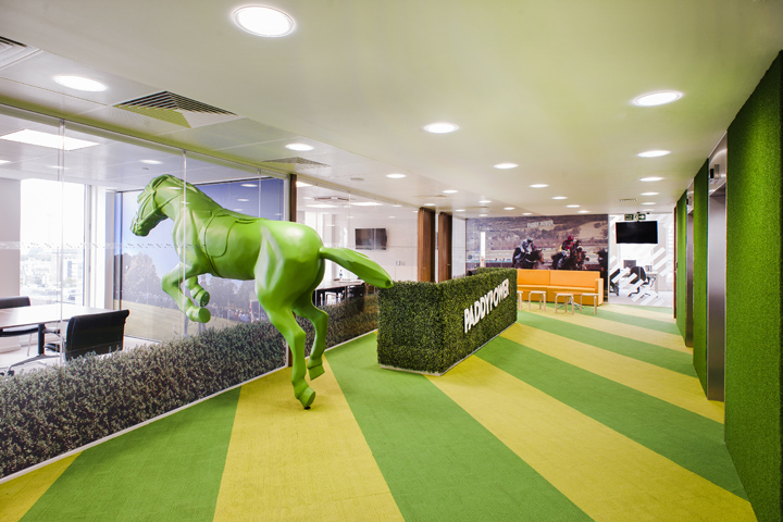 Paddy Power Office By ThirdWay Interiors London UK