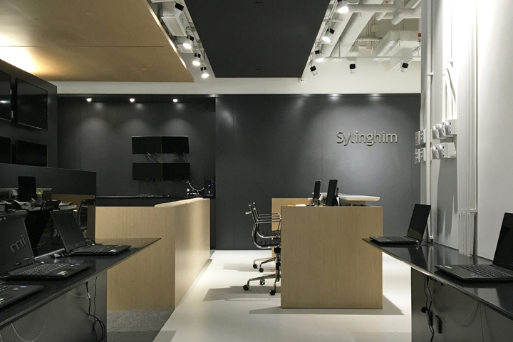 , Sylinghim office by Plot Architecture Office, Hong Kong, SAGTCO Office Furniture Dubai & Interactive Systems