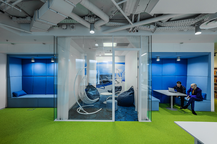 , Booking.com offices by OFFCON, Moscow – Russia, Office Furniture Dubai | Office Furniture Company | Office Furniture Abu Dhabi | Office Workstations | Office Partitions | SAGTCO