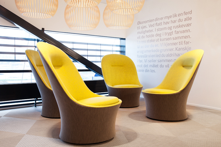 , Sparebank 1 by Monica Stavem Design, Fredrikstad – Norway, Office Furniture Dubai | Office Furniture Company | Office Furniture Abu Dhabi | Office Workstations | Office Partitions | SAGTCO