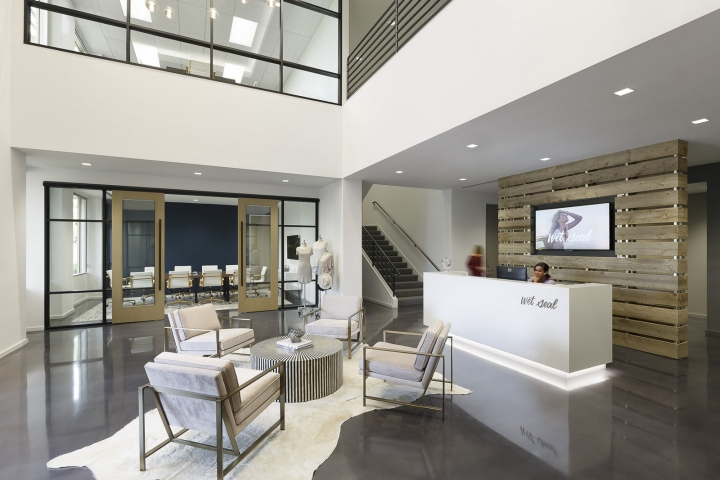 , Wet Seal offices by LPA, Irvine – California, SAGTCO Office Furniture Dubai & Interactive Systems