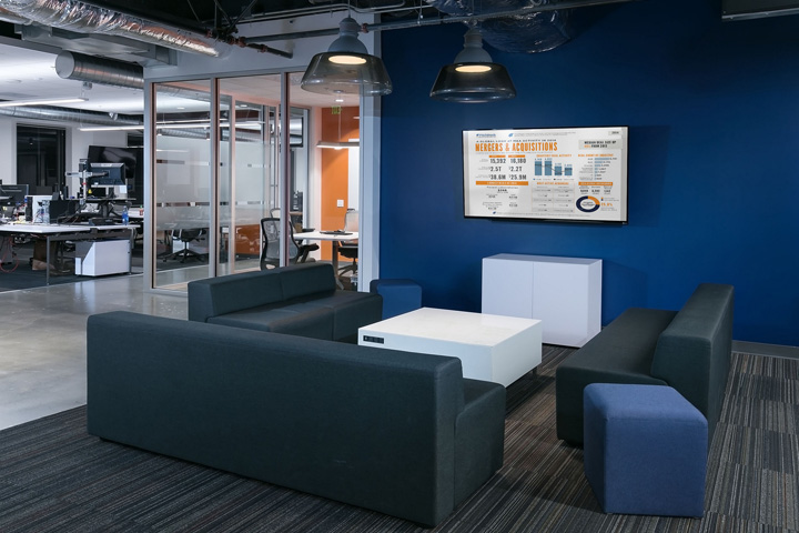 , PitchBook offices by JPC Architects, Seattle – Washington, SAGTCO Office Furniture Dubai & Interactive Systems