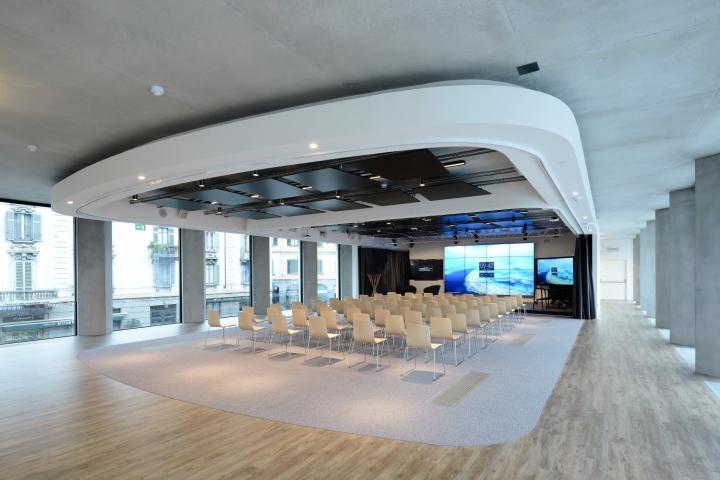 Microsoft House Office By DEGW Milan Italy Retail
