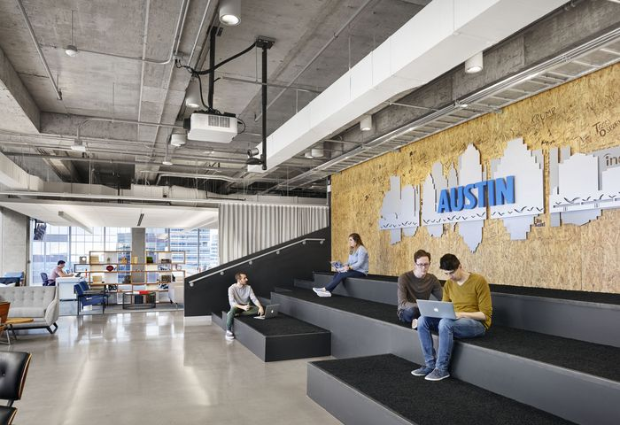 Indeed Downtown Office By Stg Design Austin Texas Retail